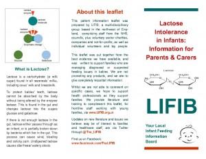 thumbnail of Lactose Intolerance Leaflet